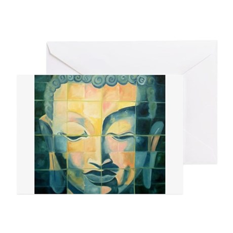 Tile Buddha Greeting Cards (Pk of 10)