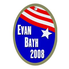 Evan Bayh 2008 Xmas tree ornament