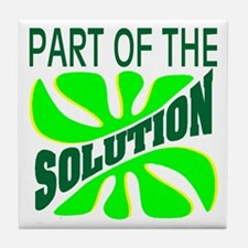 Part of the Solution Tile Coaster