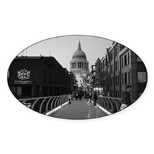 London Oval Decal