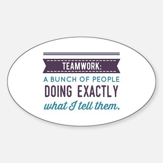 Teamwork: Decal