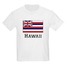 Hawaii State Flag Kids T-Shirt
