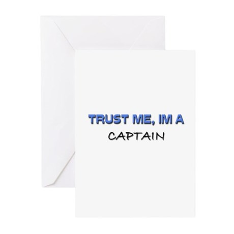 Trust Me I'm a Captain Greeting Cards (Pk of 10)