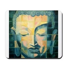 Tiled Buddha Mousepad