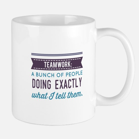 Teamwork: Mugs