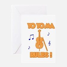 Yo Yo Ma Greeting Card