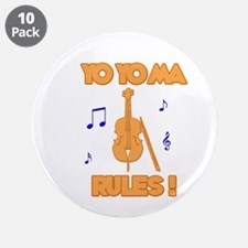 "Yo Yo Ma 3.5"" Button (10 pack)"