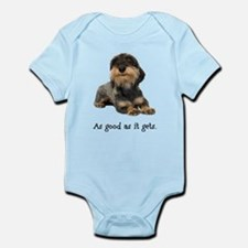 Good Wirehaired Dachshund Infant Bodysuit