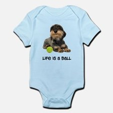 Wirehaired Dachshund Life Infant Bodysuit