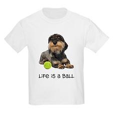 Wirehaired Dachshund Life T-Shirt