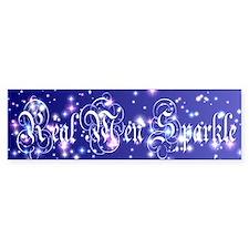 Real Men Sparkle Twilight Bumper Bumper Sticker
