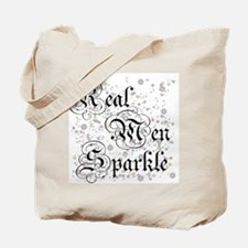 Real Men Sparkle Twilight Tote Bag