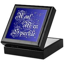 Real Men Sparkle Twilight Keepsake Box