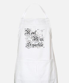 Real Men Sparkle Twilight BBQ Apron
