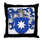 Van Aalst Coat of Arms Throw Pillow