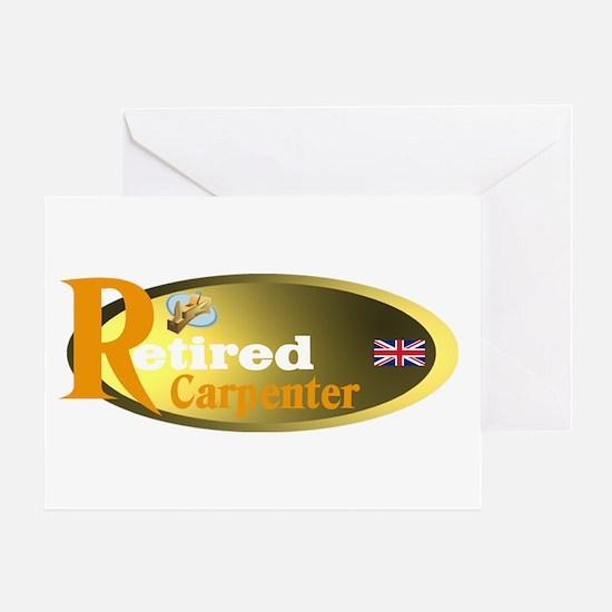 Retired Carpenter UK. Greeting Card