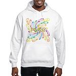 Peace Signs Hooded Sweatshirt