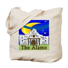 Starry Night Alamo Tote Bag