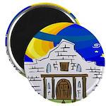 Starry Night Alamo Magnet