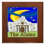 Starry Night Alamo Framed Tile