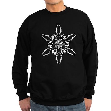 Triathlon Snowflake Sweatshirt (dark)