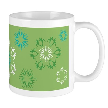 Runner Snowflake Mug