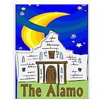 Starry Night Alamo Small Poster
