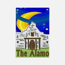 Starry Night Alamo Rectangle Magnet