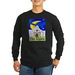 Starry Night Alamo Long Sleeve Dark T-Shirt