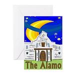 Starry Night Alamo Greeting Cards (Pk of 10)