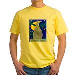 Starry Night New York Yellow T-Shirt