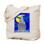 Starry Night New York Tote Bag