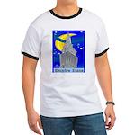 Starry Night New York Ringer T