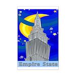 Starry Night New York Mini Poster Print