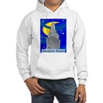 Starry Night New York Hooded Sweatshirt