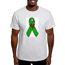 """""""Heart transplant ribbon..."""" T-Shirt"""