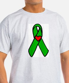 """Heart transplant ribbon..."" T-Shirt"
