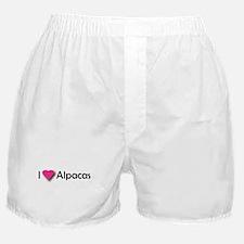 I LUV ALPACAS Boxer Shorts