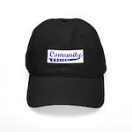 COMUNITY COLLEGE Black Cap