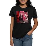 Tigers Passionate Red Women's Dark T-Shirt