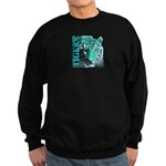 Tigers Exotic Jade Moonlight Sweatshirt (dark)