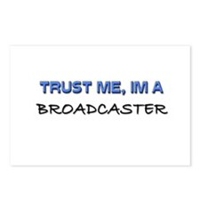 Trust Me I'm a Broadcaster Postcards (Package of 8