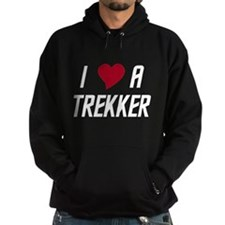 I Luv (heart) A Trekker Hoodie