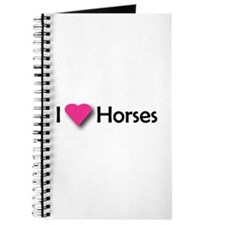 I LUV HORSES Journal