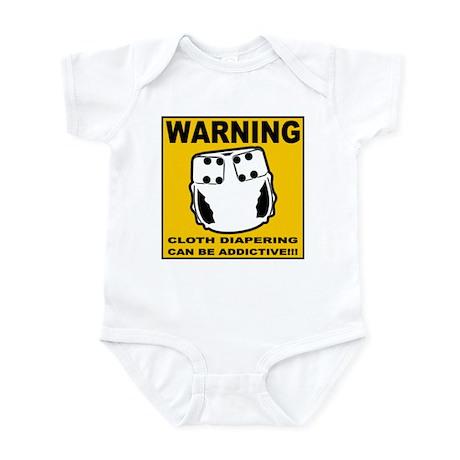 Warning... Infant Bodysuit