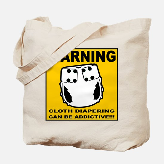 Warning... Tote Bag