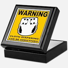 Warning... Keepsake Box