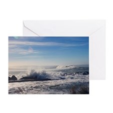 Energy of the Ocean (color) Greeting Card