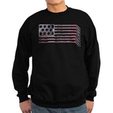 US Hockey Flag Sweatshirt