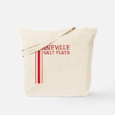 Retro Bonneville Salt Flats-R Tote Bag
